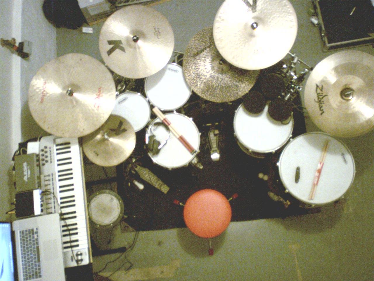 2009 East Coast Tour Drum Set