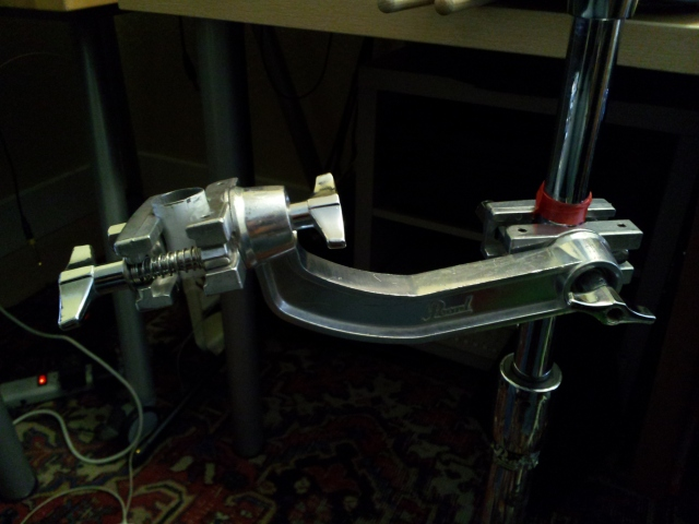 Tube mounted in AX-25L clamp.